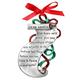Christmas List Keepsake Pewter Ornament, One Size