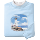 Majestic Lighthouse Sweatshirt, One Size, Multicolor