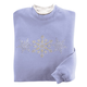 Shimmering Snowflakes Sweatshirt, One Size