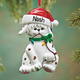 Personalized Dog in Lights Ornament, One Size