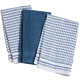 Terry Kitchen Towels, Set of 3, One Size