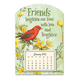 Mini Magnetic Scarlet Tanager Calendar