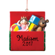 Personalized Toy Box Ornament, One Size
