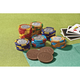 Milk Chocolate Mixed Casino Chips, One Size