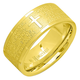 Lord's Prayer Ring, One Size, Gold