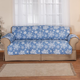 Microfiber Snowflake Sofa Cover, One Size