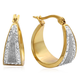 Diamond Dust Hoop Earrings VR, One Size