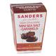 Dark Chocolate Mini Sea Salt Caramels, One Size