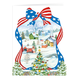 Red, White, and Blue Wishes Card Set, One Size, Red/White/Blue