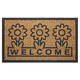 Coco Welcome Mat with Rubber Trim VR, One Size