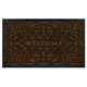 Indoor-Outdoor Wrought Iron Welcome Mat VR, One Size
