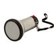 Personal Megaphone, One Size, Silver