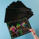 Scratch Art Paper - Multicolor Pack