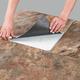 Self Stick Copper Slate Vinyl Tile Set of 10 VR, One Size