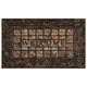 Pebble Squares Raised Rubber Mat VR, One Size