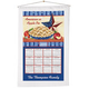 Apple Pie Calendar Towel