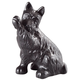 Cast Iron Dog Doorstop, One Size