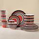 Casa Stella Dinnerware, 16 Piece Set, One Size