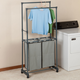 Clothing Rack with Hampers, One Size