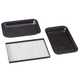 Toaster Oven Roasting Pans Set of 3 by Home-Style Kitchen, One Size
