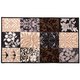 Patch Print Accent Rug, One Size