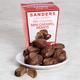 Sanders Milk Chocolate Mini Caramel Hearts, One Size
