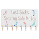 Lost Sock Sign With Storage, One Size