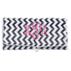 Personalized Travel Chevron Jewelry Roll, One Size