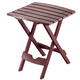 Quik Fold Table Earth Tones, One Size