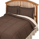 Kathy Ireland Sherpa Lined Down Alternative Comforter Set, One Size