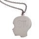Personalized Silhouette Boy Necklace, One Size