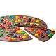 Chocolate Pizza 16 oz. M&M Topped
