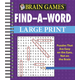 Brain Games Large Print Find-A-Word, One Size