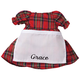 Personalized Little Sister Plaid Dress, One Size