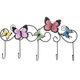 Wall Mount Butterfly Storage Hooks, One Size