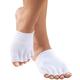 Healthy Steps Antibacterial Gel Toe Socks, One Size