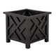 Black Chippendale Planter