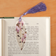 Printed Bird Leaf Fossil Bookmark, One Size