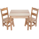 Melissa & Doug Wooden Table and Chairs Set VR, One Size
