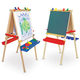 Melissa & Doug Deluxe Wooden Standing Art Easel VR, One Size