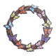 Grapevine Wreath with Butterflies, One Size