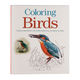 Adult Coloring Birds Coloring Book, One Size