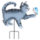 Kitten with ButterflyStake by Maple Lane Creations, One Size