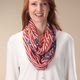 American Flag Infinity Scarf, One Size