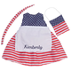 Personalized Big Sister Patriotic Dress, One Size