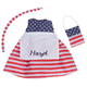 Personalized Little Sister Patriotic Dress, One Size