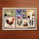 Roosters & Chickens Placemats, Set of 4, One Size
