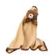 Teddy Bear Snuggle Blanket, One Size