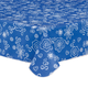 Fanciful Flowers Vinyl Table Cover, One Size