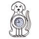 Dog Tabletop Clock, One Size